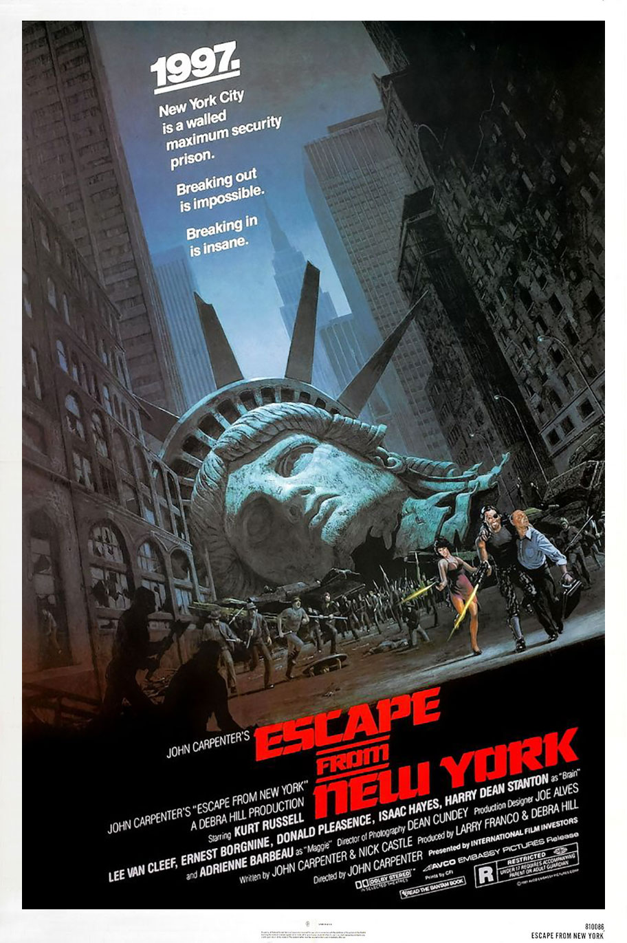 escape from new york the official john carpenter